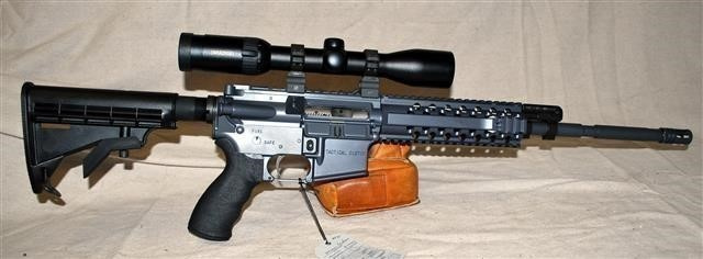 Nothing Else Compares: Wilson Combat Tactical Custom-Swarovski Scope