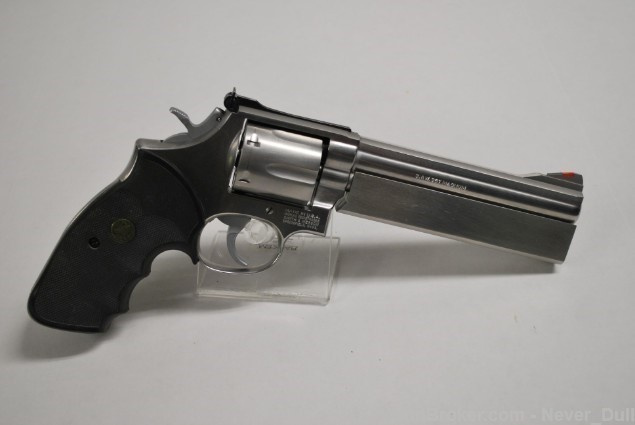 Smith & Wesson 686 w/ Custom Jarvis Weighted Barrel Like New In Box!! - Beauty!